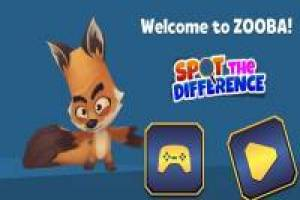 Welcome to Zooba! Spot the Difference