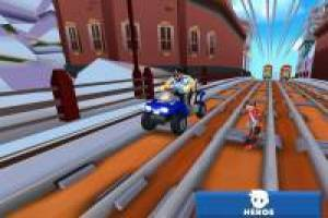 Rail Blazers Runner estilo Subway Surfer