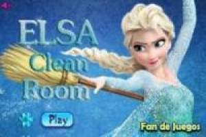 Free Frozen, clean elsa castle Game
