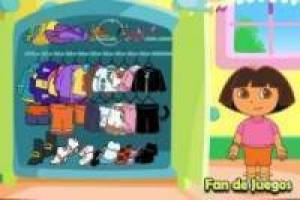 Dora Explorer and Dresses