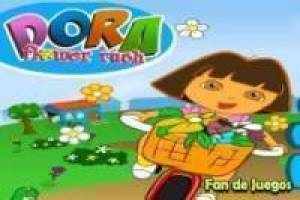 Dora the explorer: Distribui flores