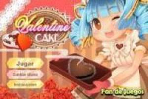 Cook cakes for Valentine