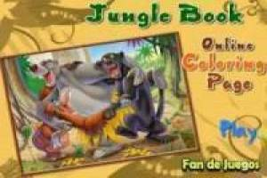 Free Colors, the Jungle Book Game
