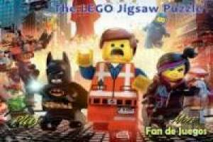 Puzzle lego movie