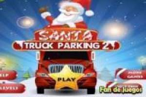 Free Parking: santa claus truck Game