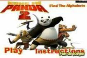 Kung Fu Panda 2 3D, lettres cachées