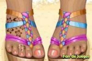 Free Decorate your feet this summer Game