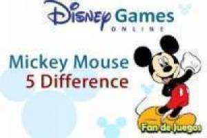 Mickey Mouse: Differences
