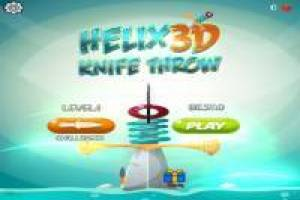 Helix Knife Throw 3D