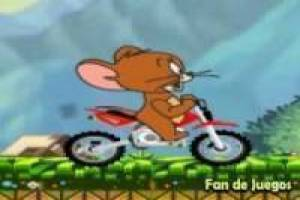 Tom et Jerry moto