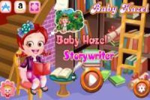 Baby Hazel as a story writer