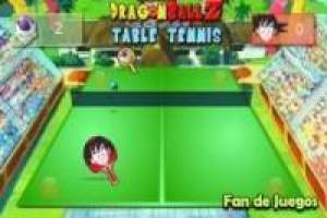 Goku vs freezer: tennis da tavolo