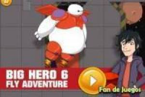 Juego Big hero 6 fly adventure Gratis