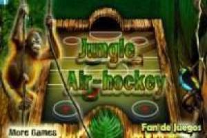 Air hockey: Jungle