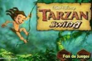 Tarzan swing in rapid
