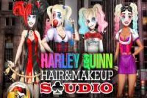 Harley Quinn: Hair and Makeup Studio
