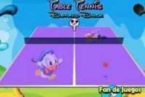Donald vs mickey: Tafeltennis