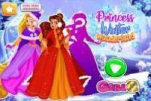 Princesses Disney: Robes d' hiver