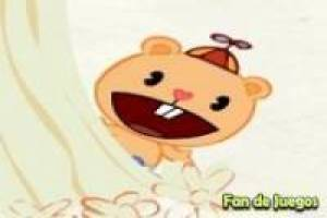 Happy Tree Friends - puce du bloc