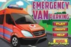 Parking de emergencias: ambulancias