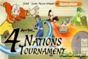 Juego Avatar 4 nations tournament Gratis