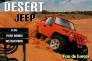 Jeep in de woestijn