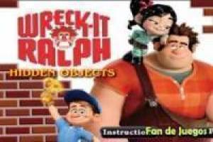 Ralph breaks: hidden objects