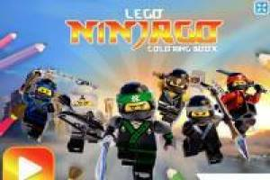 Ninjago Lego: Coloring Book