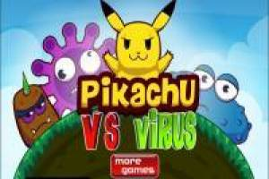 Pikachu Vs The evil Monster