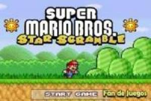 Free Super mario star scramble Game