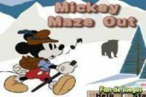 Mickey en el laberinto
