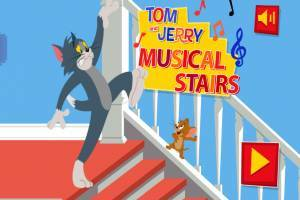 Tom and Jerry: Musical Stairs