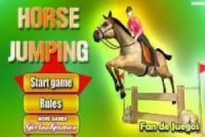 Free Jumping horse Game