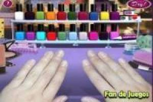 Free Painting nails Game