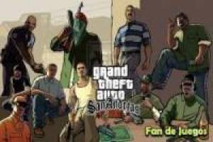 Grand Theft Auto San Andreas: Fandejuegos головоломки