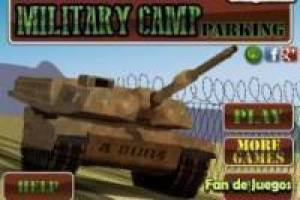 Free Parking: military tanks Game