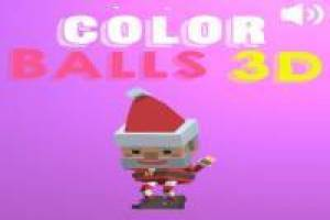 Color Balls con Santa Claus