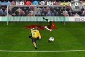 Free Kill the goalkeeper Game