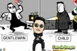 Dances: Dancing with gangnam style