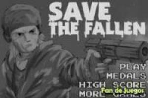 Juego Save the fallen game Gratis