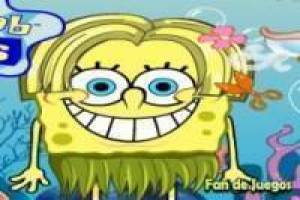 Dress and comb SpongeBob