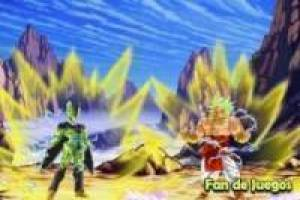 Cell vs Broly, animation