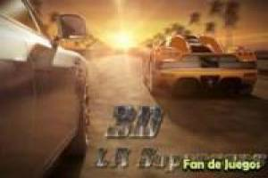 3D Los Angeles Super Cars