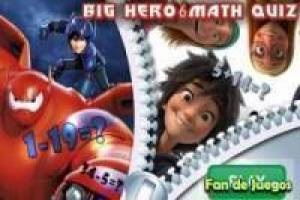 Free Big hero 6 mathematics Game