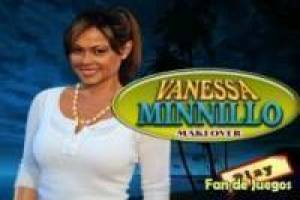 Kleden en make up Vanessa Minnillo