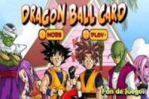Dragon ball cartes mémoire