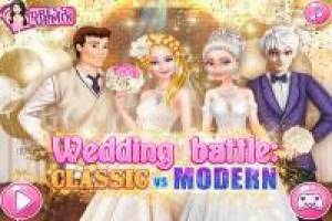 Elsa and Cinderella: Bridal Challenge