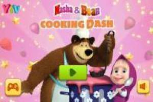 Masha and the bear: Cook for the animals