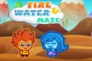 Fire and Water Maze