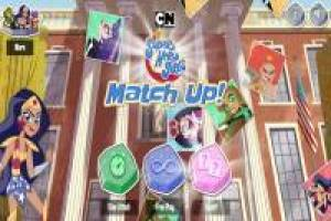 Super Hero Girls: Match Up